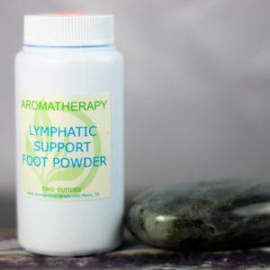 Lymphatic foot powder